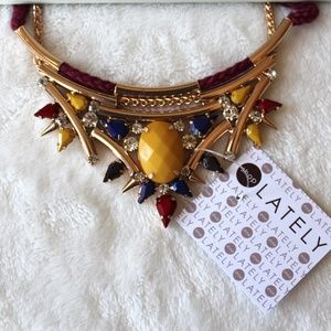 Jewelry - Shoplately Multicolored Statement Necklace